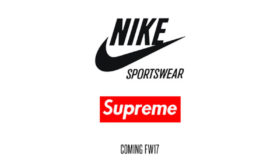 Collection Nike x Supreme – Automne/Hiver 2017-2018