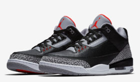 Air Jordan III Black/Cement 2018