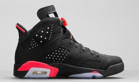 AIR JORDAN 6 RETRO 'BLACK/INFRARED23′